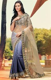 engagement sarees for buy blouse neck design with designer saree for engagement party