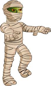 halloween clipart mummy pencil and in color halloween clipart mummy