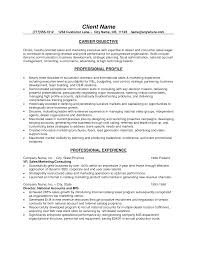Sample Resume For Business Development Manager Job Resume Customer Resume Sample Objective Administrative