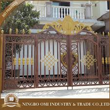 2016 latest new products on alibaba aluminum main gate designs