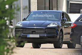 porsche suv 2015 2018 porsche cayenne spy shots and video