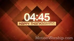 plaid thanksgiving 5 minute countdown hd by motion worship