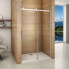 Shower Room Door 1950mm United Frameless Single Sliding Shower Door Walk In