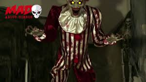 7ft Animated Clown 2017 Prop Youtube