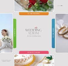 best wedding album website website template 12483 personal wedding album custom website