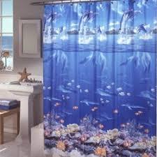Shower Curtain Vinyl - zoomie kids ryann vinyl sea life shower curtain u0026 reviews wayfair