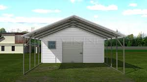Open Carports 18x31 Carport With Storage Shed