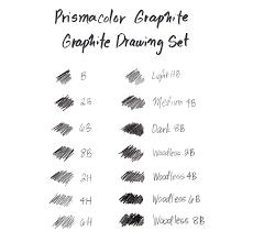 amazon com prismacolor premier graphite drawing pencils with