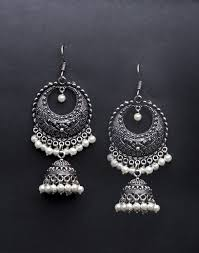 metal earings buy metal amna em 2016 jhumka earrings online in india at cooliyo