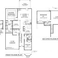 Home Design 1 1 2 Story 45 Farmhouse Plans With Open Floor Plans Modern Open House Plans 5