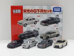 nissan box car nissan skyline 4 car box set made in vietnam tomica 207026 ebay