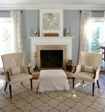 Grey Walls White Trim by Our Inviting Living Room Benjamin Moore Coventry Gray Walls Pair