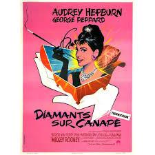 diamants sur canap diamants sur canape repro poster cinéma 60x80 achat vente