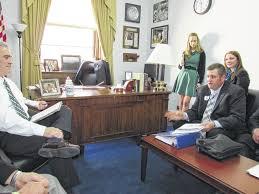 bureau president southeast ohio farmers meet with washington legislators rural