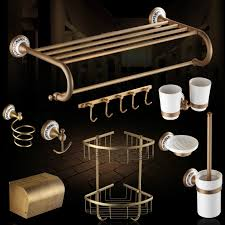 Bathroom Bronze Accessories by Popular Bathroom Accessories Copper Brass Buy Cheap Bathroom