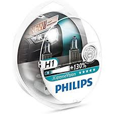 le h7 55w philips x treme vision up to 130 headlight bulbs h1