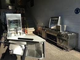 gastrok che gebraucht gastronomie küche industrie küche edelstahl ausgabe theke
