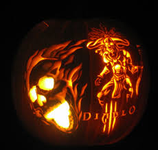 2013 halloween pumpkin carving contest diablo iii