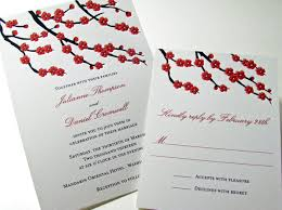 cherry blossom wedding invitations cherry blossom wedding invitation digby digby