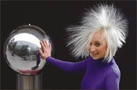 hair generator making electricity van de graaff generators and tesla coils