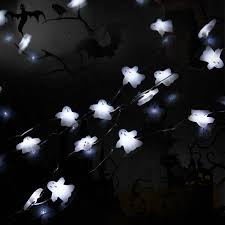 10ft copper wire 40 cold white ghost led string lights fairy