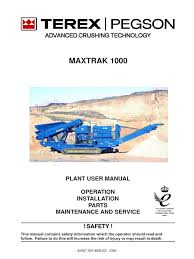 1000 maxtrak plant user manual 2008 l electrician tire