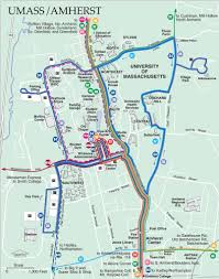 B15 Bus Route Map by Pioneer Valley Transit Authority Maplets