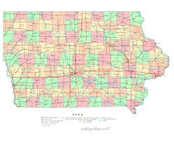 Road Map Of Illinois by Maps Of Iowa State Collection Of Detailed Maps Of Iowa State