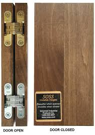 bifold cabinet door hinges amazing all about soss invisible hinges hardwaresource pertaining to