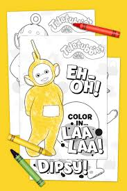 teletubbies coloring pages nickelodeon parents
