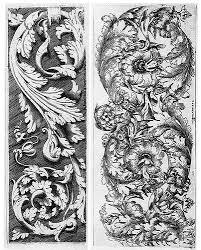 ornament of a german renaissance search karl blossfeldt
