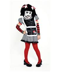 gothic rag doll costume kids costume rag halloween costume at