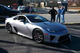 lexus supercar sport this is the last lexus lfa ever sold