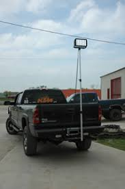 led work lights for trucks high power trailer hitch mounted led work lights fire apparatus