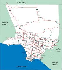 Map Of Orange County Freeway Map Los Angeles Indiana Map