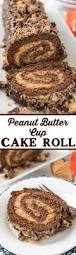 peanut butter cup cake roll crazy for crust