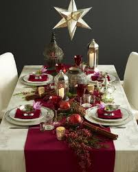 Small Table Christmas Decoration by Top 10 Inspirational Ideas For Christmas Dinner Table Top Inspired