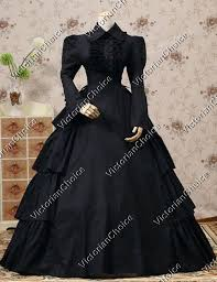 Trench Coat Halloween Costume Gothic Victorian Steampunk Black Cape Trench Coat Dress