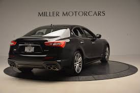 black maserati ghibli 2018 maserati ghibli sq4 gransport stock w503 for sale near