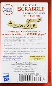 amazon com the official scrabble players dictionary new 5th