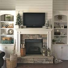 Fireplaces With Bookshelves by 25 Best Craftsman Fireplace Ideas On Pinterest Fireplace