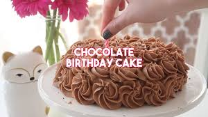cake birthday chocolate birthday cake recipe tastemade