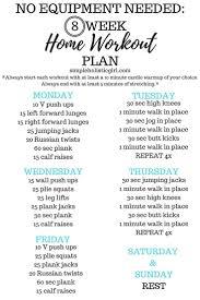 best 10 home workout schedule ideas on pinterest 10 week