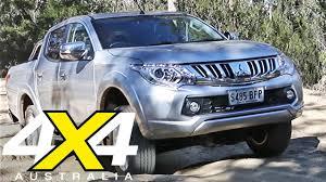 triton mitsubishi logo 2016 mitsubishi triton ute road test 4x4 australia youtube