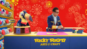 create an easter bonnet with ricky riot u0027s easter crafts for kids