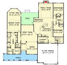 split bedroom floor plan split bedroom country house plan 25608ge architectural designs