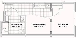 Efficiency Apartment Floor Plans Respite Floor Plans And Prices