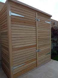 bespoke hardwood storage bike store garden shed dulwich clapham