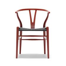 ch24 wishbone chair lacquer hans j wegner carl hansen suite ny