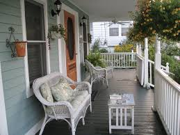 colonial front porch furniture style home design by fuller